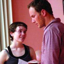 Ellen Page con Patrick Wilson in una scena del film Hard Candy