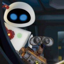 Eve e Wall-E in un'immagine tratta dal film Wall-E