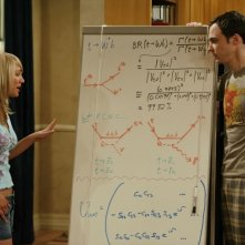 Jim Parsons e Kaley Cuoco nel pilot di The Big Bang Theory
