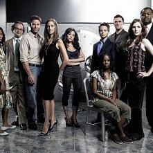 Un'immagine promozionale del cast di 'The Nine'