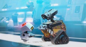 Una sequenza tratta dal film Wall-E