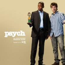 wallpaper della serie TV Psych