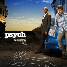 Un wallpaper della serie televisiva Psych
