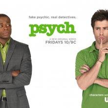 Un wallpaper del serial TV Psych