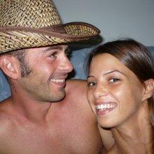 Eliana Giua con suo fratello