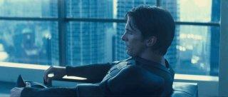 Christian Bale in una scena del film Il cavaliere oscuro