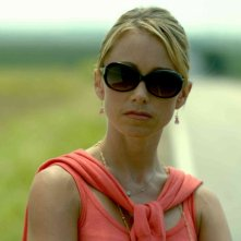 Christine Taylor in una sequenza del film Kabluey