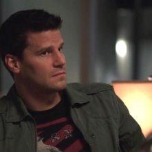 David Boreanaz nei panni di Seeley Booth nella serie 'Bones', episodio: The secret in the soil