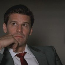 David Boreanaz nel ruolo di Booth nella serie 'Bones', episodio: Due corpi nella baia