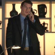 David Boreanaz nell'episodio 'Il Teschio nel deserto' della serie tv 'Bones'