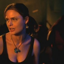 Emily Deschanel in un momento dell'episodio 'La Mummia' della serie tv 'Bones'