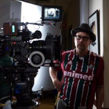 Il regista Terry Kinney sul set di Diminished Capacity