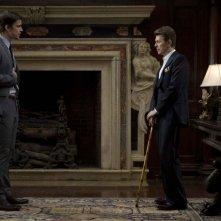 Josh Hartnett e David Bowie in una scena del film August