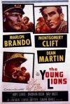 La locandina inglese di I giovani leoni