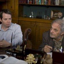 Matthew Broderick e Alan Alda in una scena di Diminished Capacity