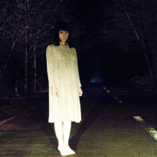 Megumi Okina in una scena dell'horror Shutter