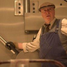 Michael Caine in una sequenza del film Un colpo perfetto