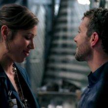 Michaela Conlin e T.J. Thyne nella serie 'Bones', nell'episodio dal titolo: Soccer mom in the mini-van