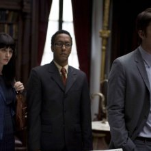 Robin Tunney, Andre Royo e Josh Hartnett in una scena del film August