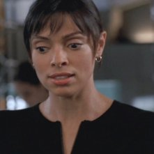Tamara Taylor nel ruolo di Camille nella serie 'Bones', nell'episodio dal titolo: Sotto tortura