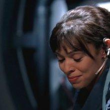 Tamara Taylor nel ruolo di Camille nella serie 'Bones', nell'episodio dal titolo: The Knight on the Grid