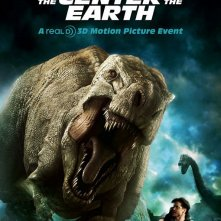 Un poster promozionale per Journey to the Center of the Earth 3D