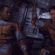 Anthony Montgomery e Dominic Keating nell'episodio 'Rompere il ghiaccio' della serie tv 'Enterprise'