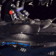La NX-01 Enterprise è nel bacino spaziale, pronta al varo