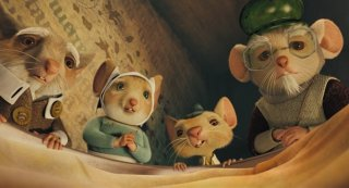 Un'immagine di gruppo tratta dal film The Tale of Despereaux