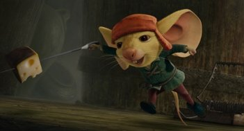 Un'immagine tratta dal film The Tale of Despereaux
