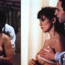 Una sensuale immagine di Serena Grandi nel film Desiderando Giulia