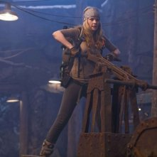 Anita Briem in una scena del film Journey to the Center of the Earth 3D