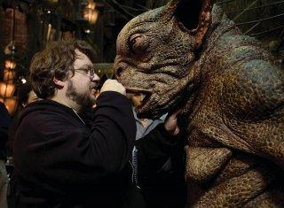 Il regista Guillermo Del Toro sul set di Hellboy 2