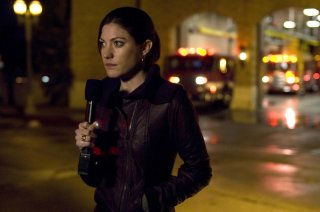 Jennifer Carpenter in una sequenza dell'horror Quarantine