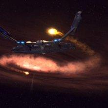L'Enterprise si avvicina a un Buco Nero