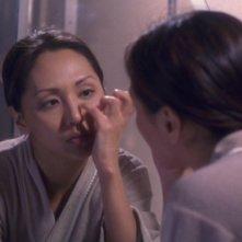 Linda Park nel ruolo di Hoshi Sato nella serie tv 'Enterprise', episodio: Punto di non ritorno
