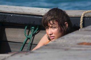 Olga Kurylenko in una scena del film Quantum of Solace