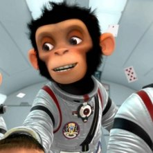 Un'immagine del film Space Chimps