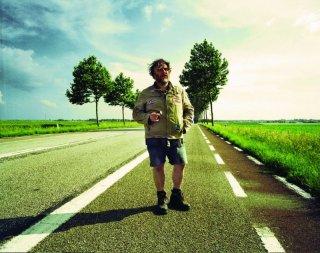 Bouli Lanners, regista e protagonista di Eldorado Road