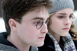 Daniel Radcliffe ed Emma Watson, protagonisti di Harry Potter e il principe mezzosangue