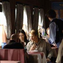 Emily Mortimer e Woody Harrelson, protagonisti di Transsiberian