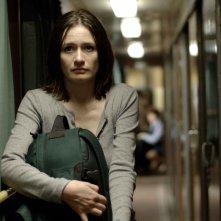 Emily Mortimer in una scena del film Transsiberian