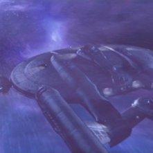 L'Enterprise in balia di una tempesta neutronica