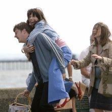 Sally Hawkins e i suoi amici in una sequenza di Happy Go-Lucky