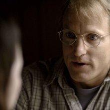 Woody Harrelson in una scena del film Transsiberian