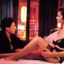 La sexy Debora Caprioglio e Stephane Ferrara in una scena di Paprika, di Tinto Brass