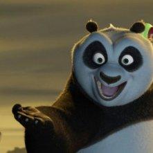 Il panda Po in un'immagine di Kung Fu Panda