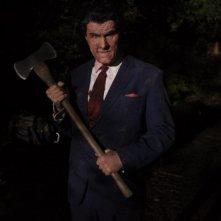 Christopher Allen Nelson sul set dell'horror The Tripper