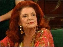 Darlene Conley in una scena della soap 'Beautiful'