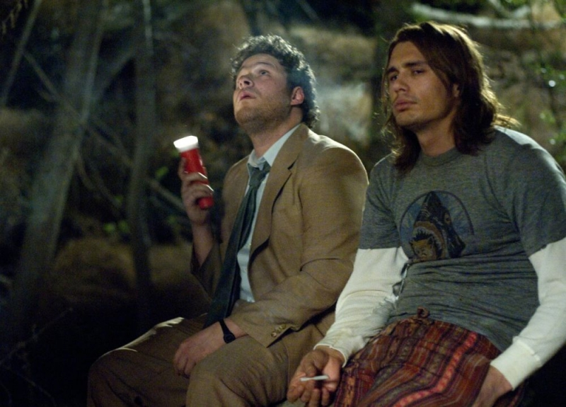 Seth Rogen E James Franco In Una Sequenza Di Pineapple Express 81799